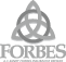 Forbes Insurance Black and White Logo